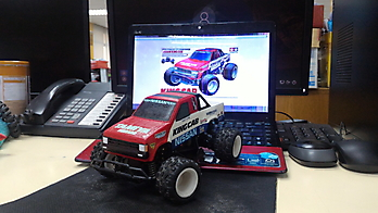 1:24 scale replica classic TAMIYA NISSAN KING CAB kit for WL-Toys A212