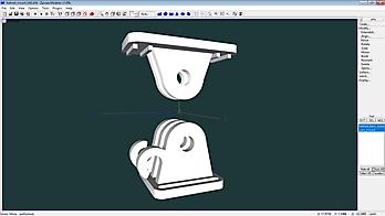 XL-RCP 46.0: Mini camera mount kit on helmet