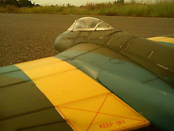 DURAFLY DH-100 Vampire 70mm EDF jet - 1100mm