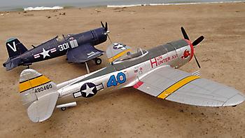 DURAFLY P-47 Thunderbolt - 1100mm
