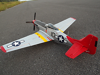 FMS P-51D Mustang 'Red Tail' - 1450mm