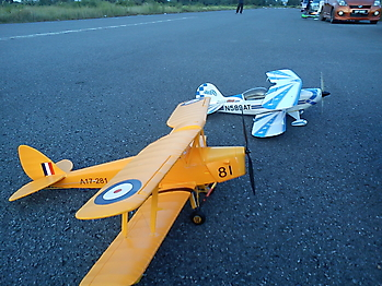 HOBBY KING DH Tiger Moth RAF - 912mm