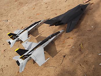 LANXIANG F-117 Nighthawk 70mm EDF jet - 800mm
