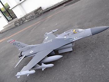 LANXIANG F-16 Fighting Falcon 70mm EDF jet - 860mm