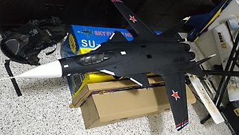 LANXIANG Sukhoi SU-47 Berkut twin 70mm EDF -1120mm