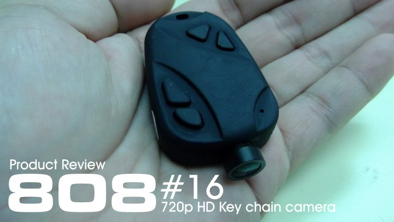 Product Review: 808 #16 720p HD keychain camera