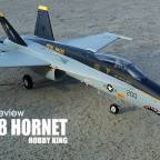 Model review: HOBBY KING - F/A-18 HORNET 64mm twin EDF jet