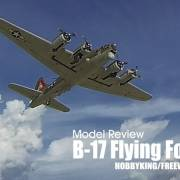 Model review: FREEWING / HOBBY KING - B-17 Flying Fortress 1600mm