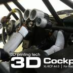 XL-RCP 44.0 Cockpit kit: For Radio Control models